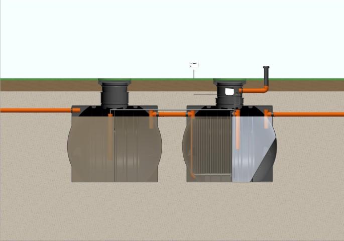 Модулни пречиствателни станции за отпадъчни води под 100 ЕЖ