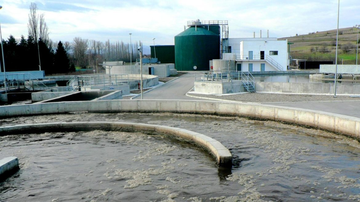 WASTE WATER TREATMENT PLANT – KUMANOVO, NORTH MACEDONIA