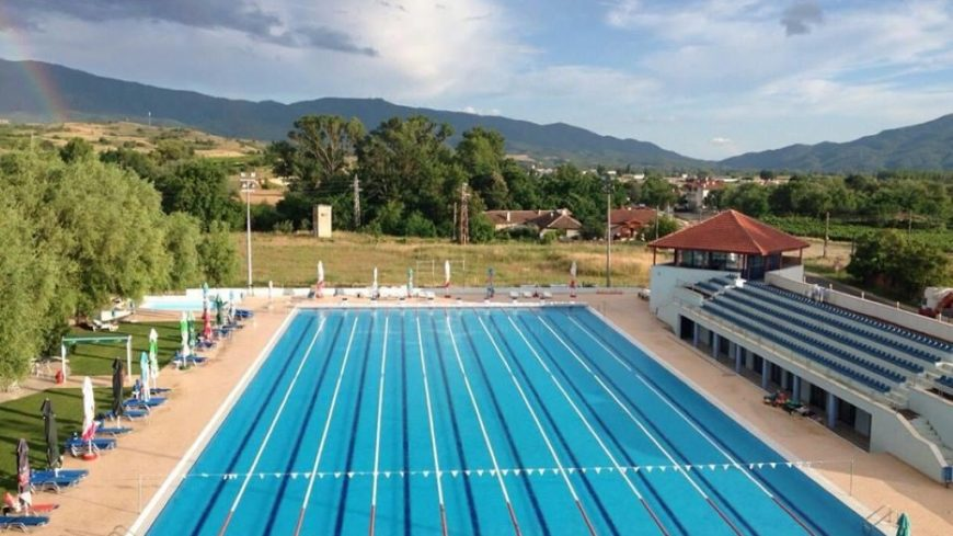 DESIGN SPORT COMPLEX WITH OLYMPIC SWIMMING POOL, REGISTERED IN THE REQUIREMENTS OF FINA